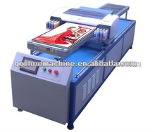 Promotion printer for crystal flexible materials such as PVC, canvas, cloth,carpet, sticky note, reflective film, leather