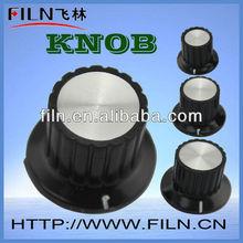 internal diameter 6mm round aluminium cabinet knobs wholesale