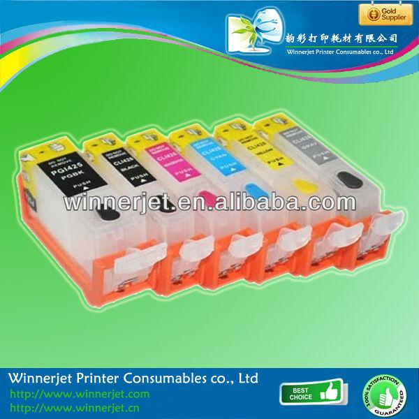 Compatible Canon Ink Cartridge Pgi-425 / Cli-426 For Canon Ip4840/ix6540/mg5140/mg5240/mg6140/mg8140/mx884pixma Series