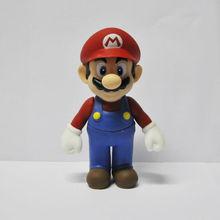 """New Super Mario Bros 4.5"""" MARIO Action Figure Toy"""