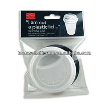 Factoy hot sell Eco-friendly silicone coffee cup covers 2012