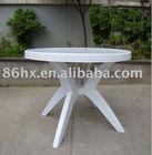 wholesale round plastic table HX-021