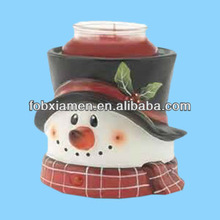 Hot christmas snowman light candle warmer
