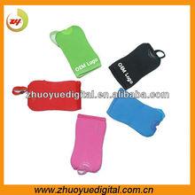 Neoprene fabric camera bag small digital camera case for canon ixus