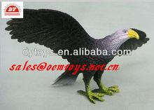 toy plastic eagle decoy for decoration