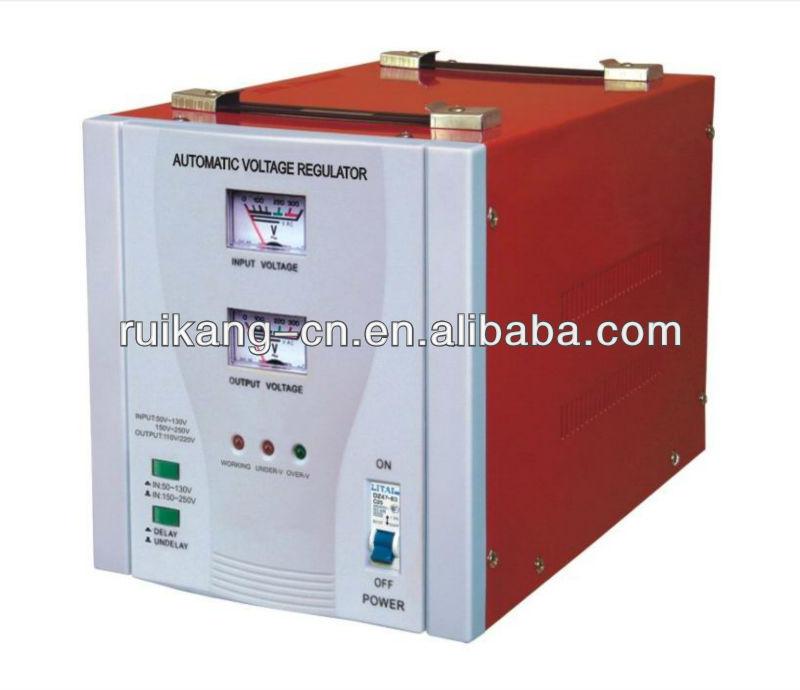 Estabilizador de voltagem automático para geladeira, Regulador de tensão ac, 3000 W estabilizador elétrica