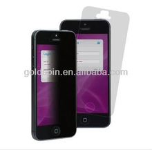 New Arrival !!!! Perfect Fit 3M White Privacy Screen Protector for iPhone 5, Clear/Black