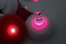 Silicone Coasters Under Transparent Glasses