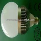 E27 high brightness 7w LED bulb light with 50000 hours' lifespan