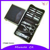 Stainless steel 10pcs nail tools beauty nail manicure set
