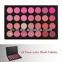 Cosmetics distributor!28 makeup blush palette mineral powder blush