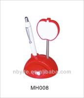Soft pvc decorative memo clip holder
