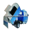 2013 new mode of garbage three wheel motorcycle with closed front cabin