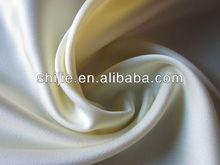 2way spandex Satin Chiffon/stretched silk satin faced chiffon/duchess satin chiffon fabric