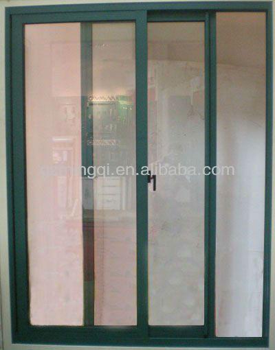 cheap aluminum framed glass panel sliding doors view