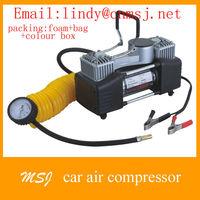 Car 12V Portable Pump metal Air Compressor AUTO Mini Tire Inflator