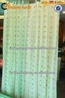 100% polyester popular organza curtains fabric
