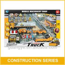 30PCS GW361126 1:87 Scale Die Cast Construction Toys