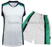 2013 100% polyester basketball uniform design