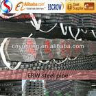 ERW black steel structure steel pipe truss