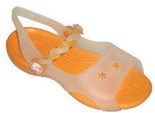 2013 beautiful girl's flat sandals