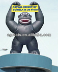 PVC inflatable monkey, inflatable ape, inflatable advertising balloon S2049