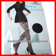 Wholesale sexy jacquard spandex stocking