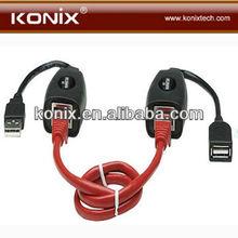 Wholesale NEW USB Cat5 Cat5e 6 Rj45 LAN Extension Adapter Cable