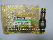 Kom atsu pc-6 excavator main relief valve PC200-6 4D95 6D95 723-40-50201 crawller hydraulic parts