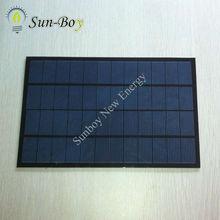SBP170260 12V 500mA PET Laminated Solar Module