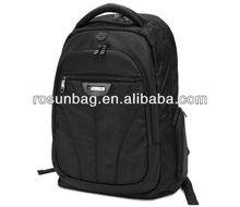 Fashion black shock-proof laptop backpack