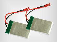 li-po RC high rate 3.7v 800mAh battery pack.