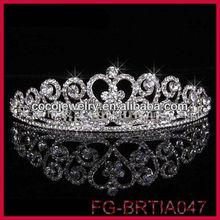 Sparkling Rhinestone Queen Tiaras Crown Cheap Bridal Tiaras and Crowns Wholesale