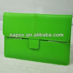Folio pouch PU leather sleeve for ipad mini