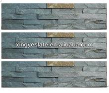 Green +rusty wall cladding stone