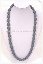 Customized Silicone Chew Bead Necklace