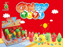 2012 Hot wind up vegetable candy toys