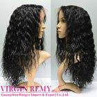 Factory stock Grade AAAA deep wave lace human hair wigs hair