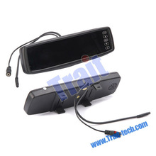 2012 Hot Selling 4.3 inch TFT LCD Color Rear View Mirror Car Monitor HFK-430B(Universal +Bluetooth)