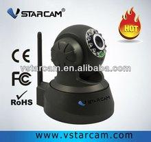 Economic F6836W Indoor 0.3 Megapixel Wireless PTZ CCTV Remote Control WIFI IP Camera