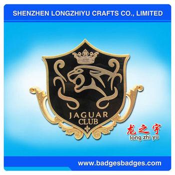 Car Chrome Badge Emblem For JAGUAR CLUB