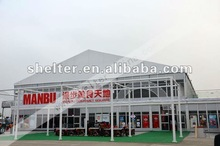 China double deck tents for christmas promotion events