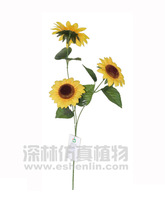 artificial sunflower for home and out decoration