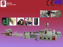 PE PVC double wall corrugated pipe making machine
