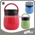 Contenedor de vidrio térmico reusable para alimentos / estofado/lonchera