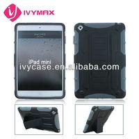 manufacturer guangzhou for ipad mini stand robot combo case