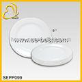 Plástico branco placa, pratos de plástico