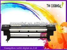 3 meter Inkjet Format Printing Machine SJ-3308HD ( with SPT 510 Head)