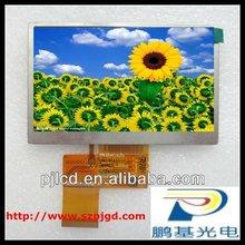 "6.2"" TFT LCD screen module with RGB interface (PJ620001)"