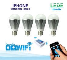 IBULB: Samsung smd 5630 led bulb light controlled via intelligent terminal